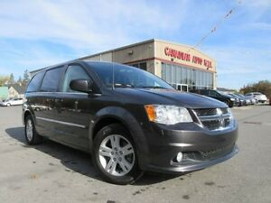 2015 Dodge Grand Caravan CREW PLUS, HTD. LEATHER, NAV, 40K!