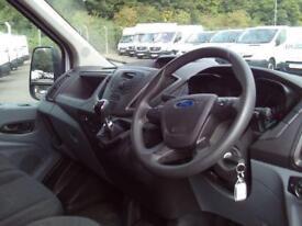 Ford Transit T350 LWB High Roof Van Tdci 125ps DIESEL MANUAL WHITE (2016)