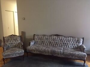 Furniture (Sofa/Chair, Wood Cabinet, kitchen table/6 chairs)
