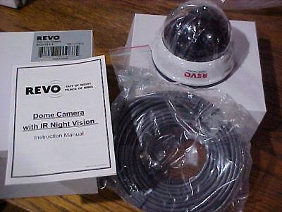 1- Revo RCDY12-1 Surveillance Camera - Color, I/R CCD - Rope K14 DOME NIB CHEAP