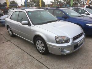 2005 Subaru Impreza MY05 GX (AWD) Silver 5 Speed Manual Hatchback Sandgate Newcastle Area Preview