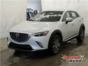 Mazda CX-3 GT AWD Navigation Cuir/Suède Toit Ouvrant MAGS 2016