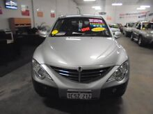 2007 Ssangyong Actyon 100 Series Silver 5 Speed Manual Wagon Wangara Wanneroo Area Preview