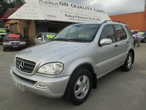 2003 Mercedes-Benz ML W163 350 Luxury (4x4) Low Kms !! 5 Speed Auto Tipshift Wagon Granville Parramatta Area Preview
