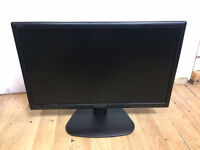 """HannsG HE225DPB 21.5"""" Full HD 1080P LED Monitor with Speakers SEVERAL AVAILABLE!!"""