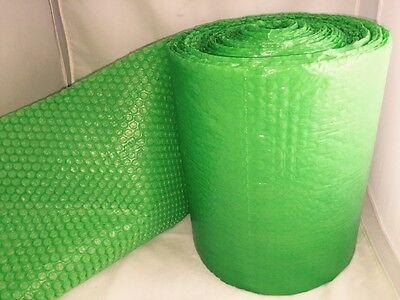 25 Feet X12 Inches X316 Small Bubbles Green Color Bubble Wrap Roll Bubblewrap