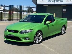 2009 Ford Falcon FG XR8 Ute Super Cab Green 6 Speed Sports Automatic Utility New Lambton Newcastle Area Preview