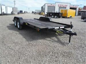 7 X 16 Car Hauler Trailer - ONLY $3,299 - OUT THE DOOR PRICE!