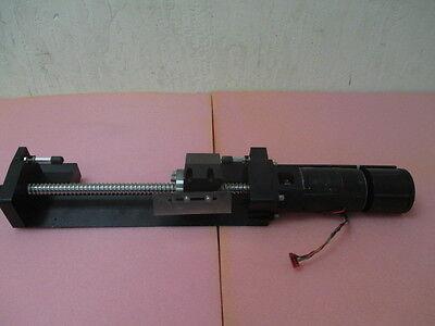 Ballscrew Assembly Zygo Technical Instrument Gear Driver. Stepper Motor