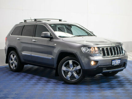 2013 Jeep Grand Cherokee WK MY13 Limited (4x4) Grey 5 Speed Automatic Wagon