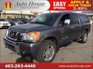 2015 NISSAN TITAN SL LEATHER NAVI BCAMERA 90 DAY NO PAYMENTS!
