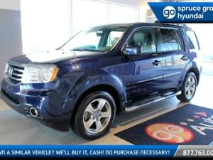 2015 Honda Pilot EX-L W/ RES LEATHER NAV ROOF 8 PASS DVD LOADED