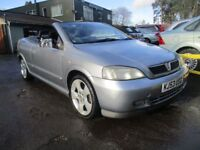 VAUXHALL ASTRA 1.8 COUPE CONVERTIBLE 16V 2d 125 BHP (silver) 2004