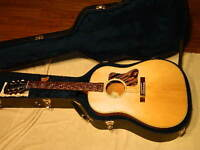 2013 Gibson J-35 Mint With Case and Documents