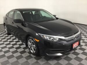 2017 Honda Civic Sedan LX-MANUAL-BACK UP CAMERA-ACCIDENT FREE