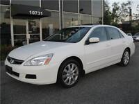 2007 Honda Accord Sdn EX-L/ LEATHER SUNROOF/ LOW KM ONLY 94KM!!!