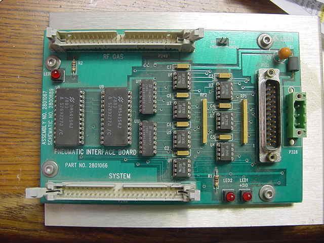 Drytek / Lam 384T PNEUMATIC INTERFACE PCB, 2801066