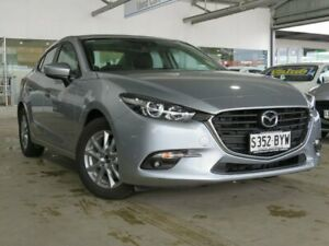 2018 Mazda 3 BN5278 Maxx SKYACTIV-Drive Sport Silver 6 Speed Sports Automatic Sedan Edwardstown Marion Area Preview