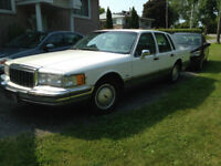 1990 Lincoln Town Car Berline