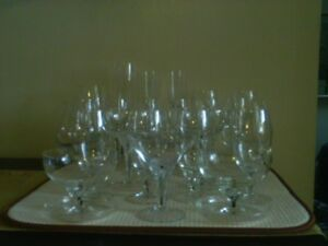Belfor Exquisite Pattern Crystal Glasses
