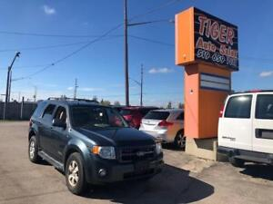 2008 Ford Escape XLT LIMITED***4X4**LEATHER**SUNROOF**161 KMS