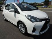 2016 Toyota Yaris NCP130R Ascent White 4 Speed Automatic Hatchback Oakleigh Monash Area Preview