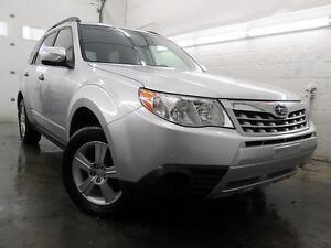 2011 Subaru Forester 2.5 X Convenience Pkg. AUTO A/C 48,000KM
