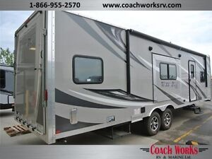 Gently pre owned toyhauler & under $47K. Call Tristan today