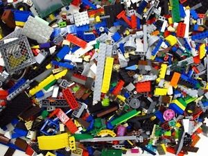 LEGO-500-Clean-Lego-Pieces-With-3-Minifigure-FROM-HUGE-LOT-Washed-and-Sanitized