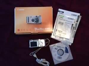 Canon PowerShot A460 5.0MP Digital Camera with 4x Optical Zoom.