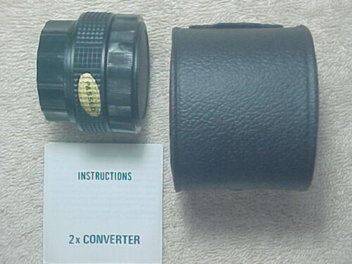 TELESOR AUTOMATIC 2X TELE CONVERTER FOR LENS WITH PENTAX M42 SCREW MOUNT