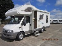 2003 SWIFT SUNDANCE 4 BERTH MOTORHOME WITH L SHAPED LOUNGE ANDERSON CARAVAN SALES