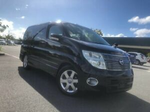 2008 Nissan Elgrand E51 Series 3 Highway Star Black Automatic Wagon Arundel Gold Coast City Preview