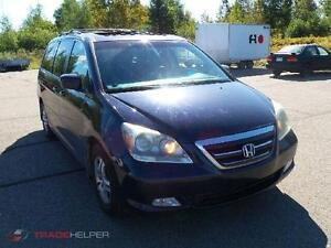 2005 HONDA ODYSSEY  TOURING GPS- DVD- CUIR CLIMATISEE PORTES ELE