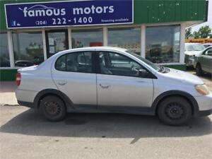 2001 Toyota Echo only 167K,Automatic,A/C,CD,Remote Starter
