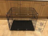 36 inches Folding Dog Cage (Black)