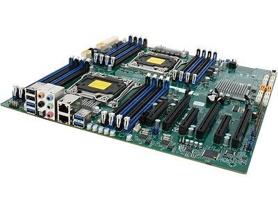 SUPERMICRO MBD-X10DAI-O Extended ATX Xeon Server Motherboard Dual LGA 2011-3 Int
