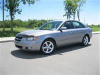 2007 HYUNDAI SONATA 61,000 Km LEATHER/SUNROOF GET APPROVED TODAY