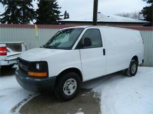 2012 CHEVY EXPRESS CARGO VAN/ 2500 6.0L INSPECTED
