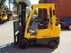 Hyster forklift Propane 6000 Lbs 2011