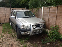 Vauxhall Frontera LWB, spares or repairs