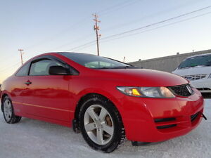 2009 Honda Civic EX SPORT PKG Coupe (2 door)-AMAZING SHAPE--129K