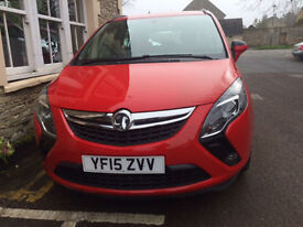 2015 Vauxhall Zafira Tourer 8,000 miles immacculate throughout