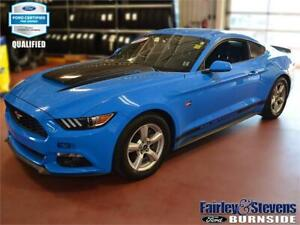 2017 Ford Mustang V6 $123 Weekly OAC with Ford CPO