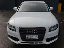 2008 Audi A4 B8 (8K) 1.8 TFSI White 6 Speed Manual Sedan Albert Park Charles Sturt Area Preview