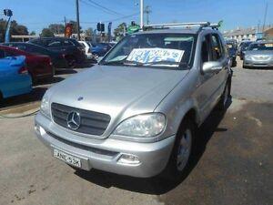 2002 Mercedes-Benz ML W163 270 CDI (4x4) Silver 5 Speed Auto Tipshift Wagon Greenacre Bankstown Area Preview