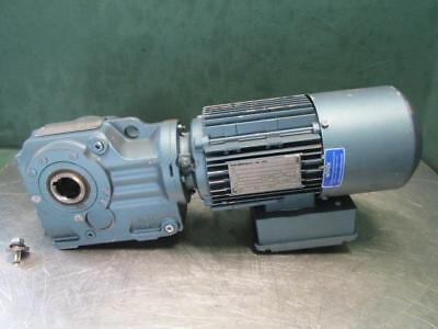 Sew-eurodrive Dft80k4bm61hr Electric Gearmotor 34 Hp 68 Rpm 3 Ph Wbrake