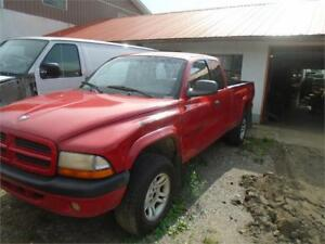 2001 Dodge Dakota Sport - 4X4 - AS IS