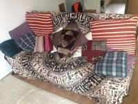 Three seat sofa bed IKEA BEDDINGE ***COLLECTION ONLY**
