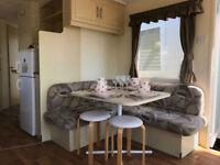3 bedroom 8 berth static caravan on Scotlands Ayrshire Coast 12 month